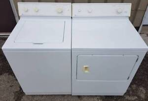 Maytag washer electric dryer set, 12 month warranty