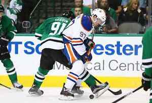 Lower Bowl Center Ice Club Seats Oilers vs Stars (Mar 14)