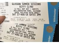 Biffy Clyro 2x Tickets