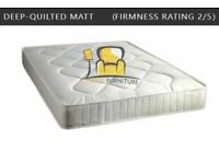 Brand New Quality Orthopaedic, Memory Foam, Pocket Spring Mattresses, Single / Double / Kingsize
