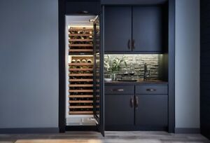 """Sub-Zero Integrated Series 24"""" Wine Cooler Glass Door"""