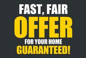 Receive Fair Offer For Your Home