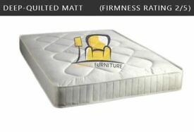 Brand New Single Double Small Double or King size Mattresses - Pocket Sprung Memory Foam Orthopedic