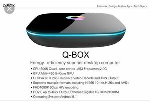 Most powerful android box! QBox 2gb/16gb
