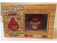 GEAR4 Angry Birds audio speaker. Boxed. RRP £47