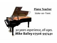 Piano / Keyboard teacher 30 Years Experience Grand Piano or Home Visits Adults/Children. All Levels