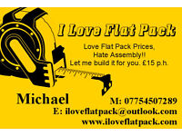 Profesional Flat Pack Assembly £15 P.H. Save yourself the hassle.