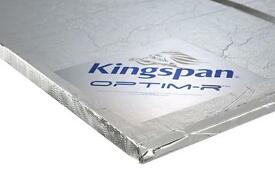Kingspan Optim-R High performance vacuum insulation 25mm thick - up to approx 30m2 available