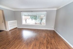Recently renovated 3bd main floor suite located in Bonnie Doon