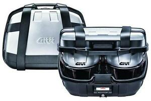 givi monokey koffer topcase trekker 52 liter trk52n ebay. Black Bedroom Furniture Sets. Home Design Ideas