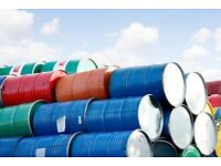 Oil drum pan metal Barrles various colours and condition can cut deliver barrel.