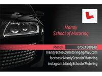 Female Driving Instructor (Franchisee of Bill Plant)