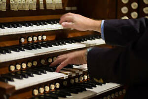 WANTED: Organ player for special events.