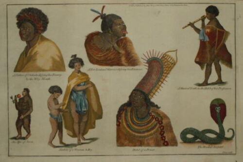 A NEW ZEALAND WARRIOR. CIRCA 1780.