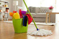 CLEANER AVAILABLE FOR MONCTON AND DIEPPE SURROUNDING AREAS
