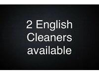2 cleaners available