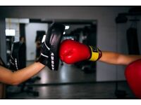 Boxing, personal training for women