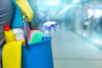 J&G cleaning services.