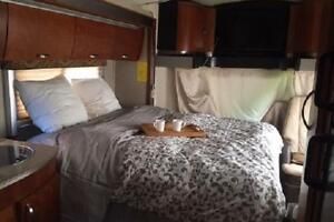 Class C Motorhome Fall and Winter rental availability! Covered!