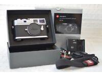 Leica M9-P Silver Chrome 10716 new sensor