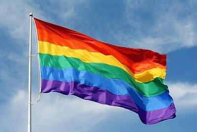Thank You NHS RAINBOW FLAG House Flag 5FT X 3FT - 20% £1.80 to NHS Charity