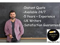 Essays, Assignments, Coursework, Dissertations, Projects – All IT and Business Management Help in UK