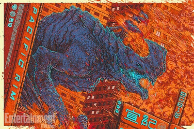 Pacific Rim Poster - Kaiju - Mondo -  Ash Thorp - Limited Edition of 355, used for sale  Spring