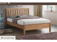 584b935a01a7 Worthing Oak Wooden Bed Frame - 5ft King Size - 6 months old - Almost like