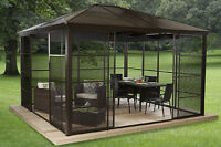 ASSEMBLY SERVICES-SUN SHELTER, GAZEBO AND PLAY CENTER