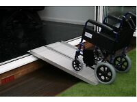 4ft suitcase ramp for wheelchairs, buggies and scooters