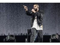 Drake Ticket Swap: Standing For Seated O2 London Monday 20th March