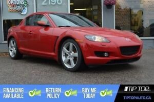 2006 Mazda RX-8 GT ** Leather, Low Km, No Accidents, Automatic *