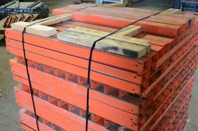 Pallet Racking Supports For 44 Deep Uprights 40 Overall Length Lot Of 700