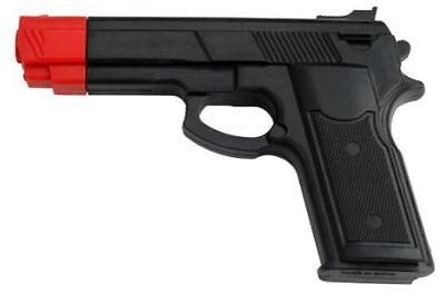 Brand New Rubber Self Defense Training Black Pistol