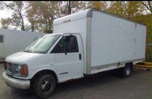 1998 GMC Cube Van