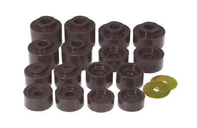 Mount Kit Explorer - Prothane Body Mount Bushing Kit 16pc 01-05 Ford Explorer Sport Trac 2WD 6-116-BL