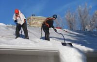 Roof snow removal - best price in town