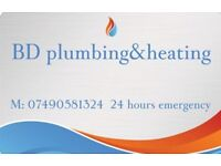 Bd plumbing&heating 24 hours emergency