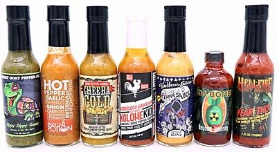 Hot Ones Season 8 - Best Selling Hot Sauces Combo