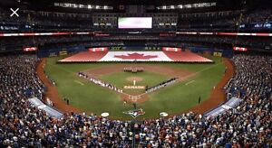 (6) Blue Jays vs Red Sox - July 1 and 2 Premium Dugout 125 ROW 7