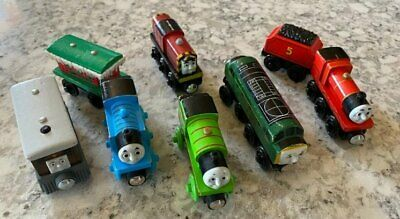 Thomas Train Wooden Track Lot 92 + Tank Engines James Percy Toby Diesel Salty