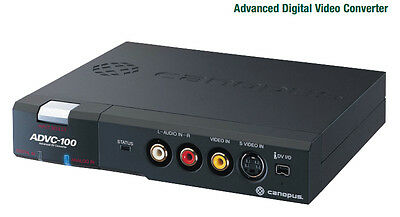 CANOPUS ADVC-100  Analog to Digital Video Converter
