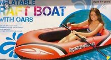 2 Kmart Inflatable Boats with Oars Prospect Launceston Area Preview