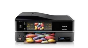 Epson All In One Coloured Printer Plus Ink & Photo Paper!