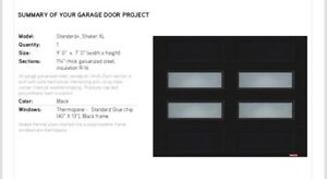9x7 garaga garage door