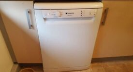 White Hotpoint Dishwasher