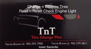 Tires install n balance