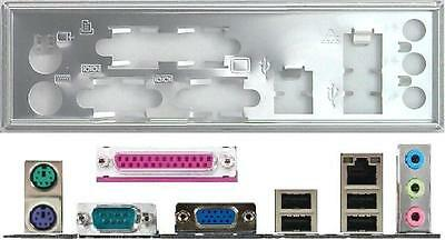 ATX Blende I/O shield Asus P5P800-VM #393 io schield OVP NEW backplate P5PE-VM