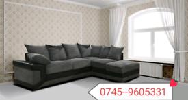 .Dino Corner Black & Grey Sofa Sale