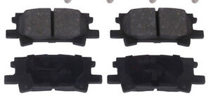 Disc Brake Pad 996 Rear Lexus RX330 2006-2004, RX350 2009-2007,